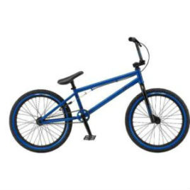 BMX Fly Satin Blue Position One